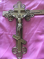 Крест фурнитура ажурный с распятием