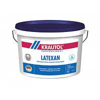Износостойкая, шелковисто-матовая, латексная, водно-дисперсионная краска Krautol LateXan (Краутол ЛатеКсан) 10 л (В1)