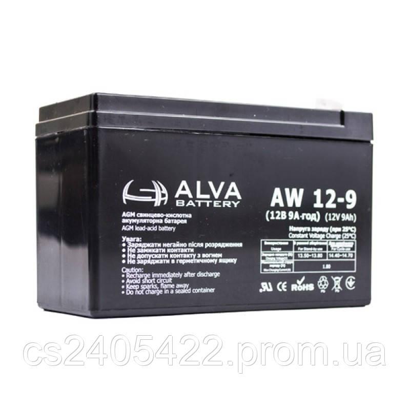Аккумуляторная батарея AW12-9 AGM