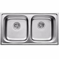 Кухонная мойка ULA HB 5104 ZS 780*430 satin