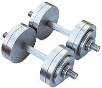 Гантели металлические 2 по 18 кг наборные
