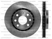 Диск тормозной R14 Daewoo Lanos, Nexia, Espero, Opel Vectra, Astra, Ascona, Calibra, Kadett.