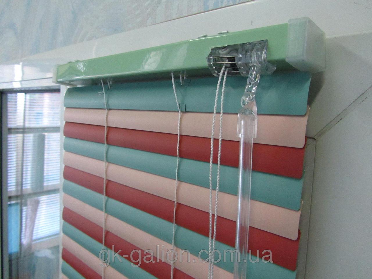 Жалюзи горизонтальные металлические Люкс (белые, цветные)