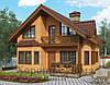 Финский каркасный деревянный дом 160 м2