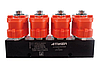 Блок газовых форсунок Atiker 4ц 3 Ohm