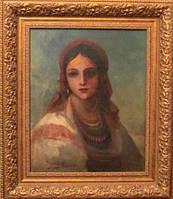 "Картина ""Портрет украинки"", Винтурин М.И. 1881 год"