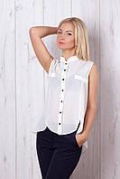 Стильная блуза молочного цвета