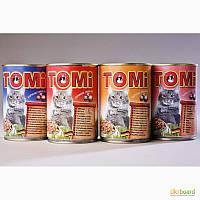 Корм для котів в концервах ТОМІ (виробник Німеччина)