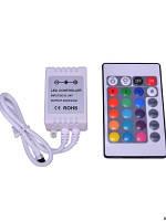 Контроллер RGB 72Вт 6А с ИК пультом Д/У  BIOM