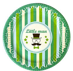 "Набор тарелок 10 штук ""Little Man"" размер 180 мм"