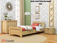 Кровать Венеция односпальная Бук Щит 102 (Эстелла-ТМ)