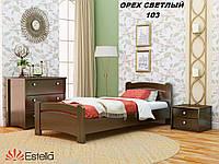 Кровать Венеция односпальная Бук Щит 103 (Эстелла-ТМ)