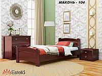 Кровать Венеция односпальная Бук Щит 104 (Эстелла-ТМ)