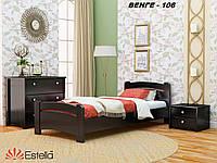 Кровать Венеция односпальная Бук Щит 106 (Эстелла-ТМ)