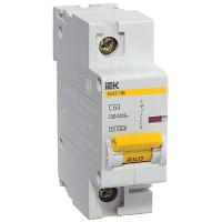 Автоматичний вимикач ВА47-100 1P 63 A D IEK
