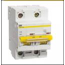 Автоматичний вимикач ВА47-100 2P 50 A D IEK