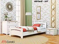 Кровать Венеция односпальная Бук Щит 107 (Эстелла-ТМ)