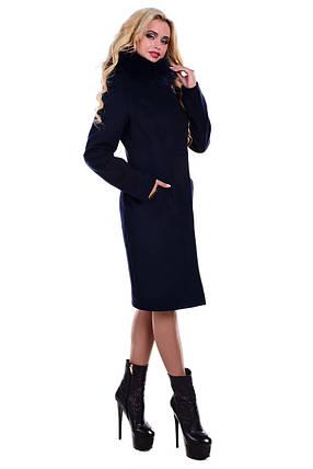 Женское элегантное зимнее пальто арт. Луара лайт зима песец 4083, фото 2