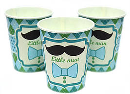 "Набор стаканчиков ""Little Man"" 10 штук"