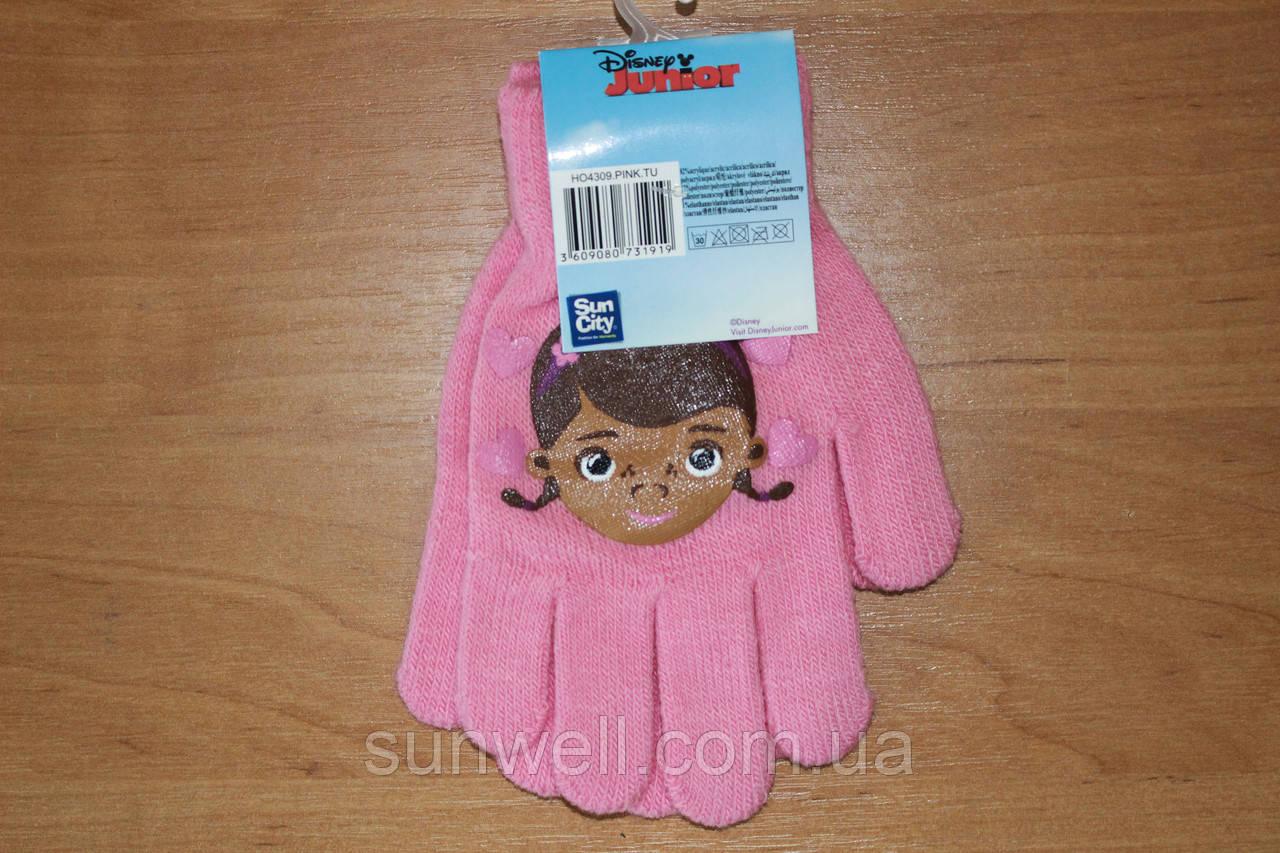 Перчатки для девочек Др. Плюшева ТМ Sun City, 16см