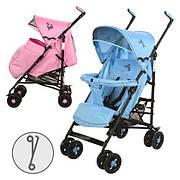 Коляска детская 1109-4-8 P (Розовый)