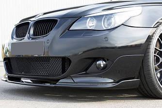 Сплиттер BMW E60 M Sport элерон обвес переднего бампера стиль Hamann