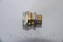 Сгон металлопластиковый диаметр 20 х 1/2 внешнняя резьба