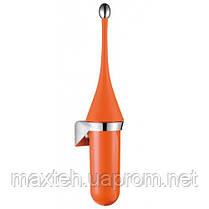 Престиж Щетка для унитаза настенная оранжевая Soft Touch