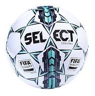 Мяч футбольный Select Contra FIFA, бело-серо-голубой, р. 5, ламинированный