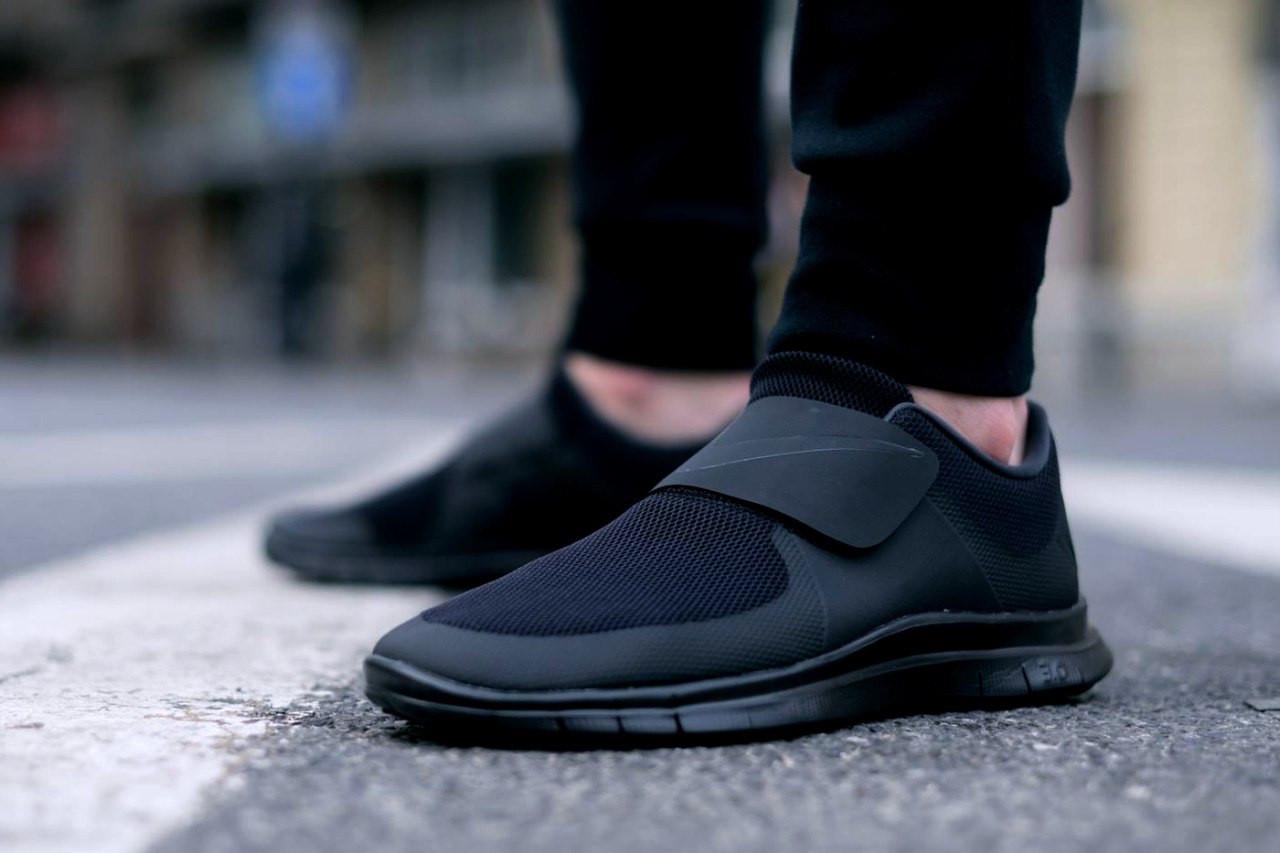 кроссовки Nike free socfly trainers blac, мужские ,стильные