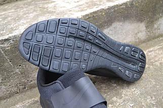 кроссовки Nike free socfly trainers blac, мужские ,стильные , фото 2