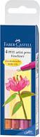 """Набір капілярних ручок PITT artist pen """"S"""", теплі відтінки"""
