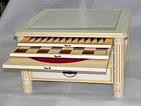 Стол для игры в шахматы , нарды и карты