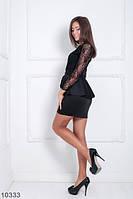 Платье с баской Bonnie