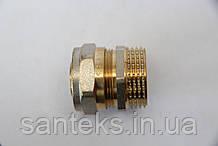 Сгон металлопластиковый диаметр 20 х 3/4 внешняя резьба