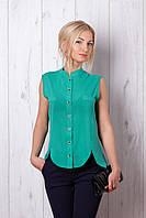 Яркая блуза модного фасона