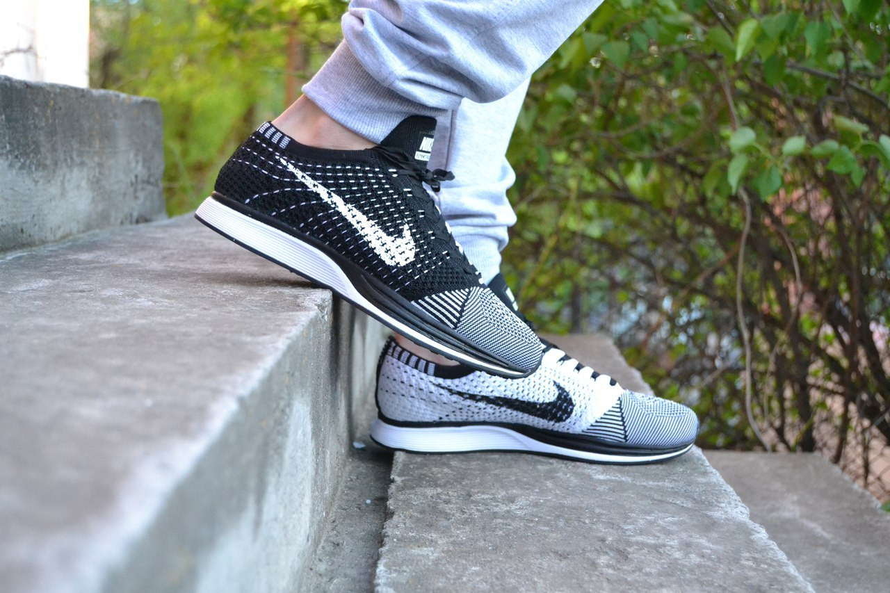 b09800a0 кроссовки Nike flyknit racer black white мужские ,стильные - ATTIC |  одежда, обувь,