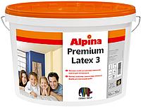 Матовая, высокоукрывистая краска для внутренних работ Alpina Premiumlatex 3 (Альпина ПремиумЛатекс) B1, B3