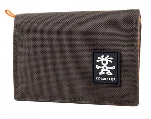 Интересный мужской кошелек Nomads Crumpler NM-002 коричневый