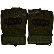 Перчатки армейские тактические беспалые, фото 2