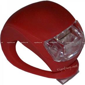 Мигалка на два светодиода XR008-2 Красный свет, фото 2