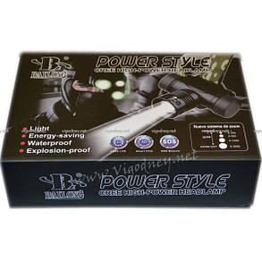 Налобный аккумуляторный фонарь BAILONG BL-6866, фото 2
