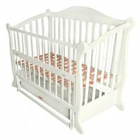 Baby Sleep Grazia Lux детская кроватка-диван на маятнике с ящиком