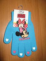 Перчатки для девочек Минни Маус ТМ Sun City, 16см