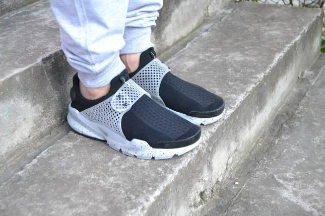 кроссовки Nike sock dart  мужские ,с белой подошвой на застежке , фото 2