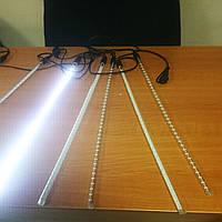 Гирлянда сосульки, тающие сосульки светодиодные 5х60 см, фото 1
