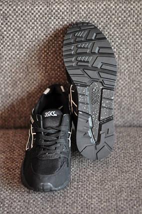 Кроссовки Asics черные, мужские кеды, фото 2