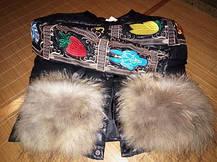 Женская курточка карманы на меху енота  , фото 2