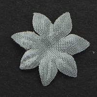 Цветок семилистник. Прозрачный. Размер 17 мм