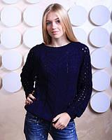 Качественный свитер с завязкой на спинке